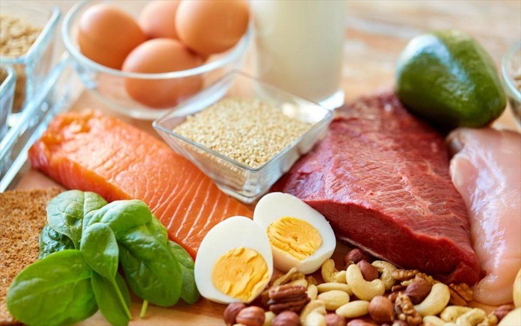 Τρόφιμα εμπλουτισμένα με Πρωτεΐνες.